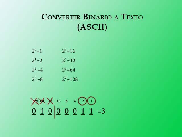 Binario a texto paso 2