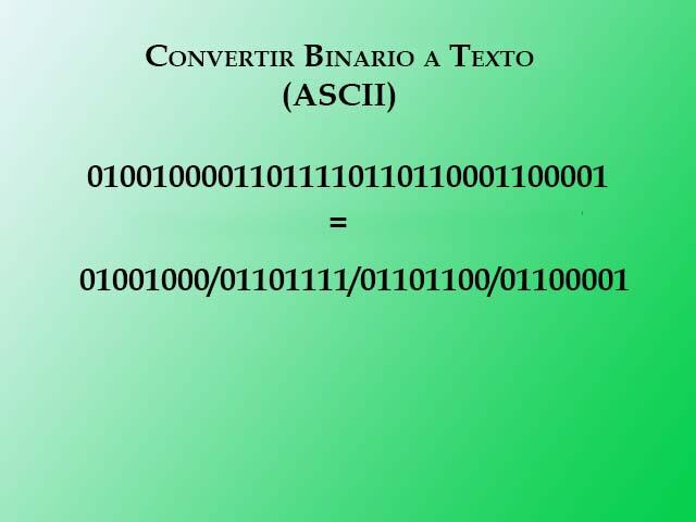 Binario a texto paso 4